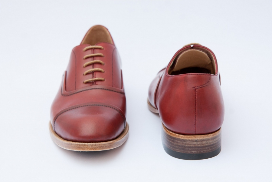 Reversed Oxfords by Scarpatini