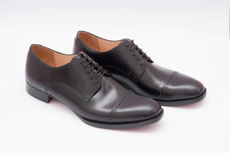 Toecap Derby Shoes by Scarpatini