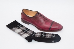 Handpainted & Handcrafted Oxford Shoes by Scarpatini